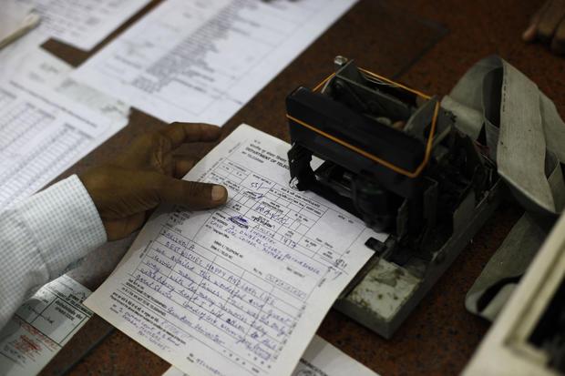 India's last telegram