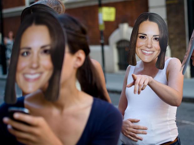 Britain prepares for royal baby