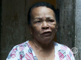 This grandmother said she wants the pope to address the drug violence that afflicts her community.
