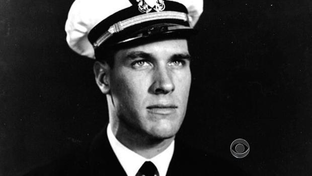 Tom Hudner during his U.S. Navy days