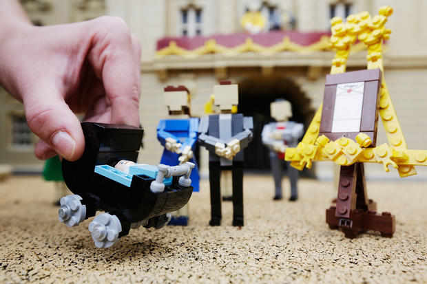 Prince George joins Legoland