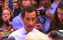 Anthony Weiner has testy exchange with NYC voter