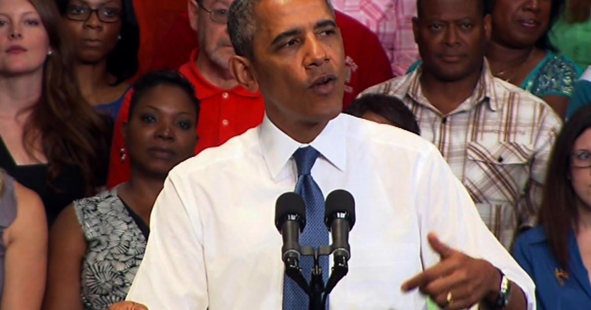 Obama: Let's hear Republican job plan - CBS News