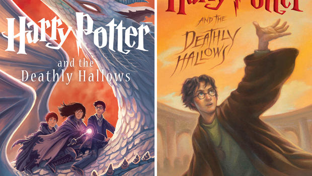 Harry Potter Book Cover Generator ~ Quot harry potter and the deathly hallows new cover revealed