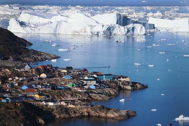 Greenland, a nation of glaciers