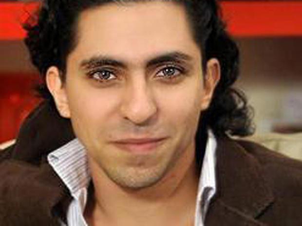 Saudi Arabian blogger Raif Badawi