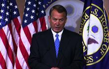 """Boehner urges Obama to """"engage"""" Putin on Snowden"""