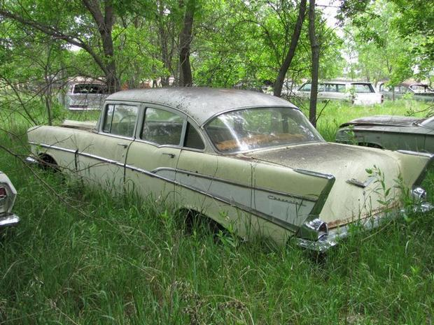 A car time capsule in Nebraska