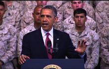 """Obama: America will never """"retreat from the world"""""""