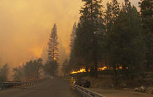 Rim Fire threatens Yosemite's cherished landscape