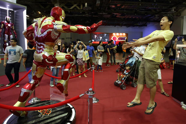 Comics come to life in Singapore