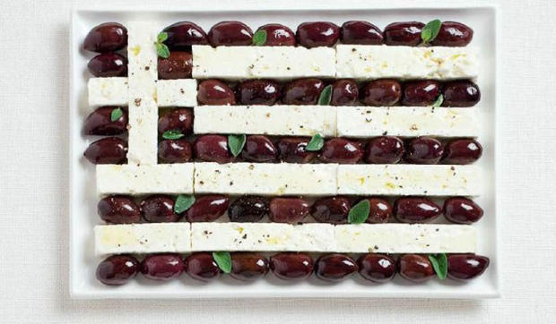 Flags for foodies