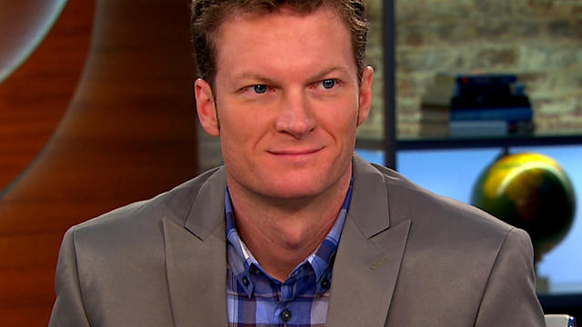 "Dale Earnhardt Jr., as seen on ""CBS This Morning."""