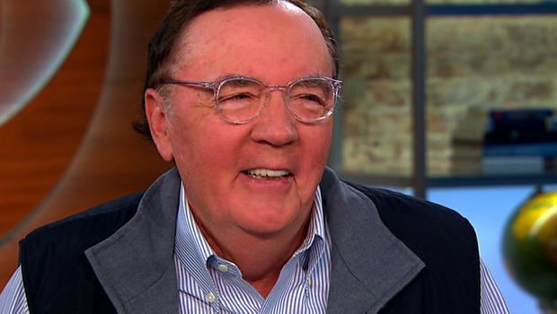 """James Patterson on """"CBS This Morning"""""""