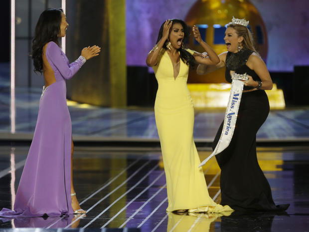 Miss New York wins Miss America