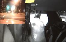 Caught on tape: Suspect escapes police cruiser