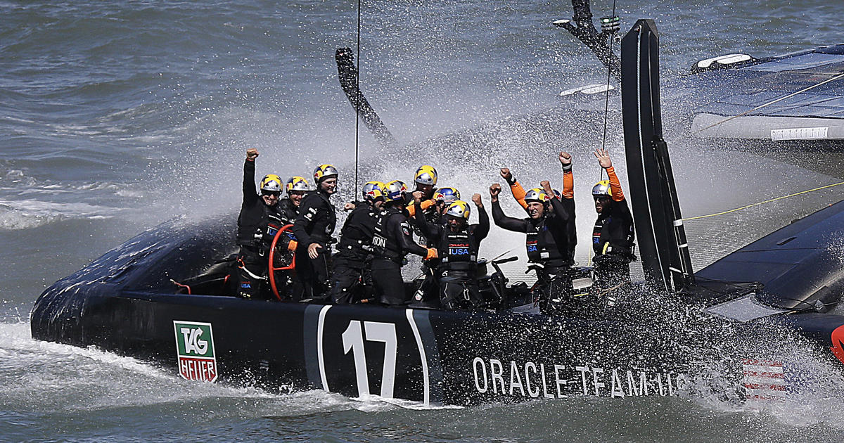 Oracle Team USA caps stunning comeback to win America's Cup