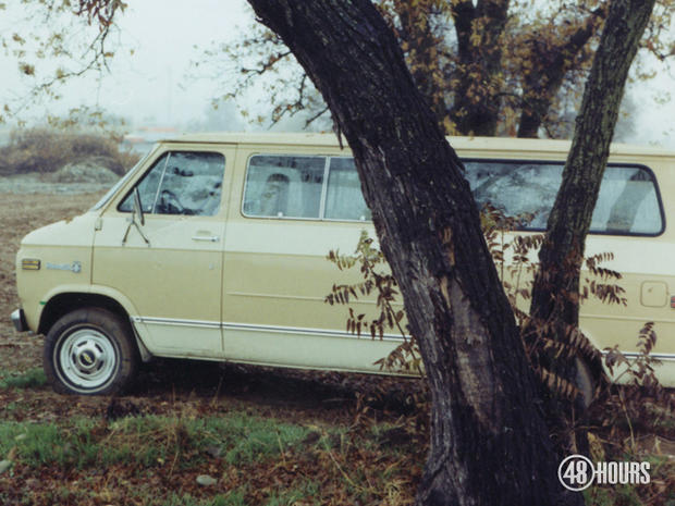 There was no sign of John Riggins and Sabrina Gonsalves inside the van. Police soon discovered their bodies hidden in the brush in a nearby ravine.