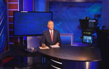 Cable TV news host vs. politician