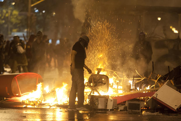 Brazil protests turn violent