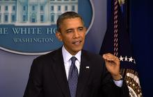 "Raising the debt ceiling ""a lousy name,"" Obama says"