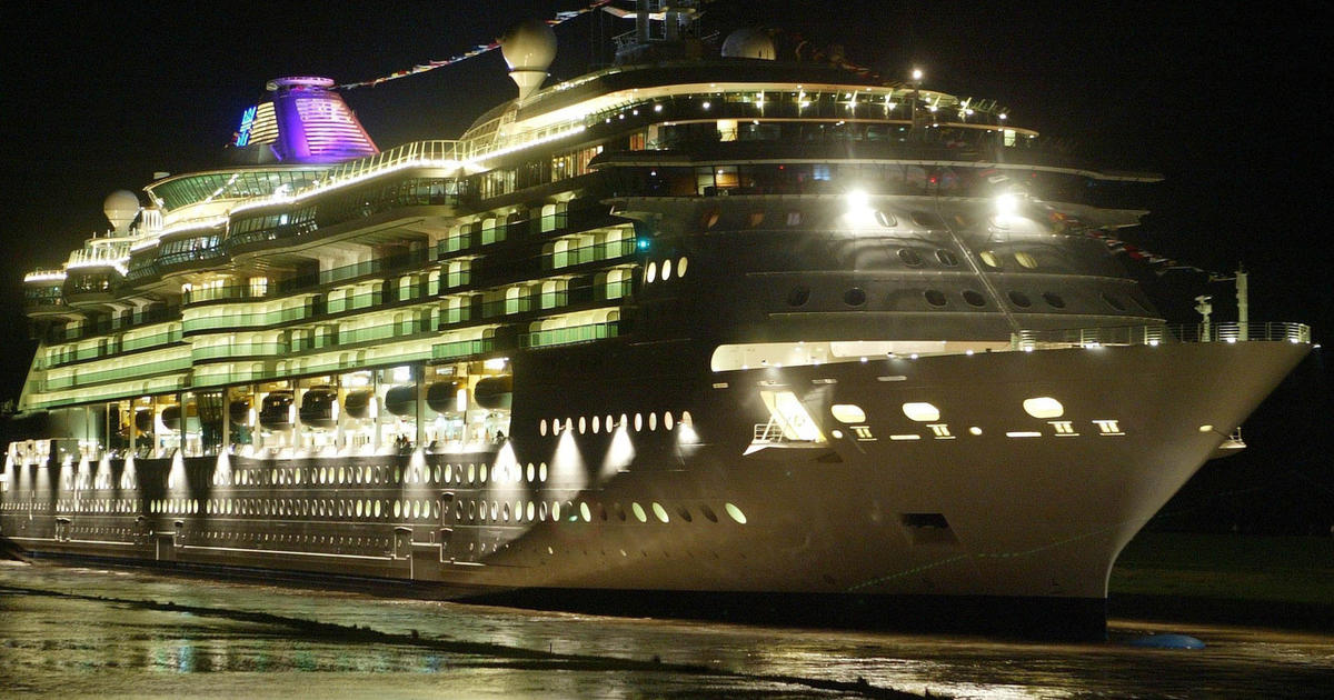 Couple On Cruise Ship Helps Rescue Men Stranded At Sea - CBS News