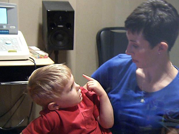 Grayson and mom Nicole