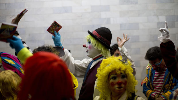 Clowning around in Mexico City