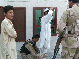 Easy Company's Afghan partners are better trained now, but American soldiers double-check everything.