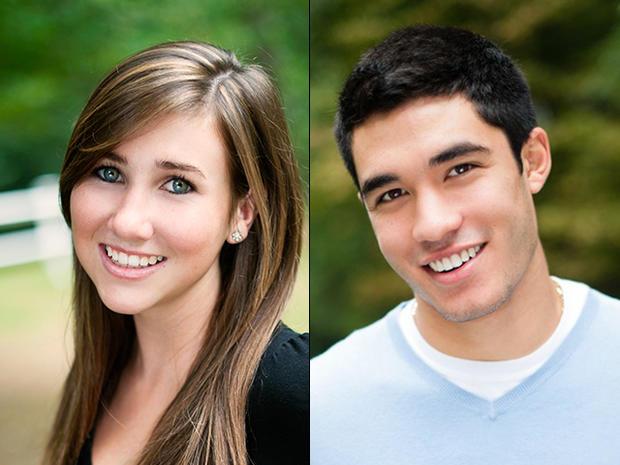 Lauren Astley and Nathaniel Fujita