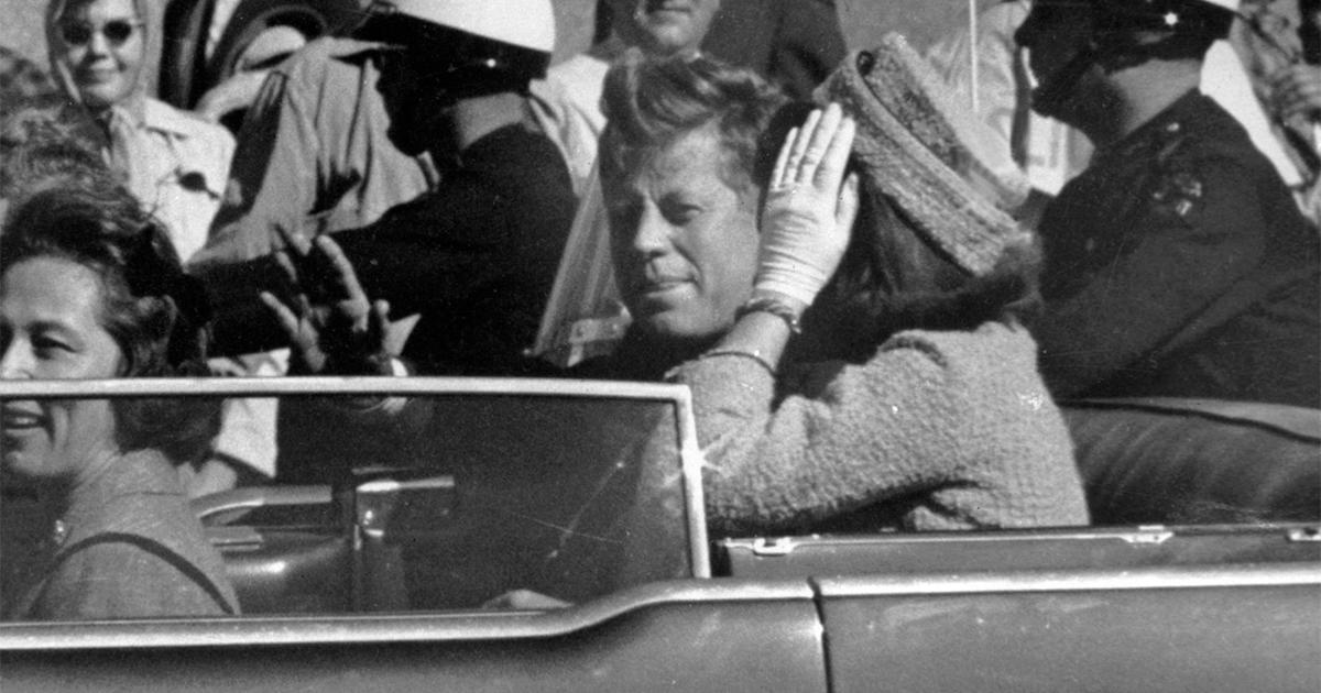 The Assassination Of Jfk As It Happened Cbs News