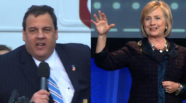 Clinton, Christie seen as prepping for 2016 race