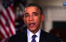 """Obama to veterans: """"Thank you"""""""