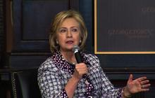 """Hillary Clinton: We can't """"give up"""" on helping Afghanistan"""