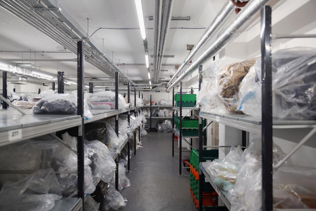 "Contraband animal products in UK's ""Queen's Warehouse"""
