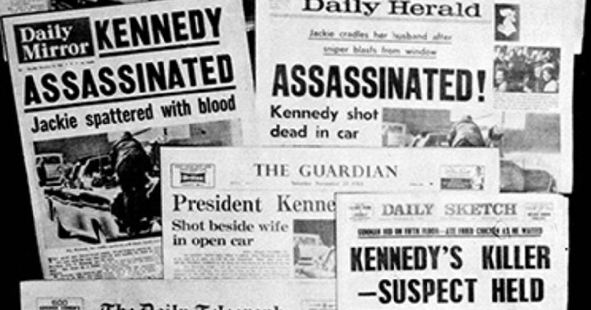 jfk assassination the world mourns cbs news