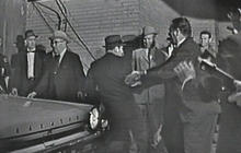 Lee Harvey Oswald shot
