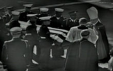 JFK's casket carried into St. Matthew's Cathedral