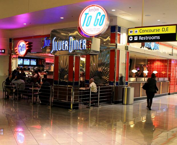 BWI. Silver Diner NOV 2013. Airport Food Review..jpg