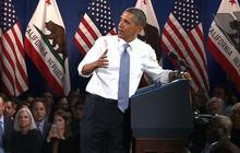 Obama responds to heckler during immigration speech