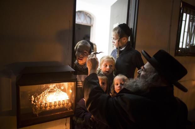 Hanukkah in Israel