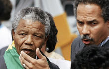 Political activist introduced America to Mandela's struggle