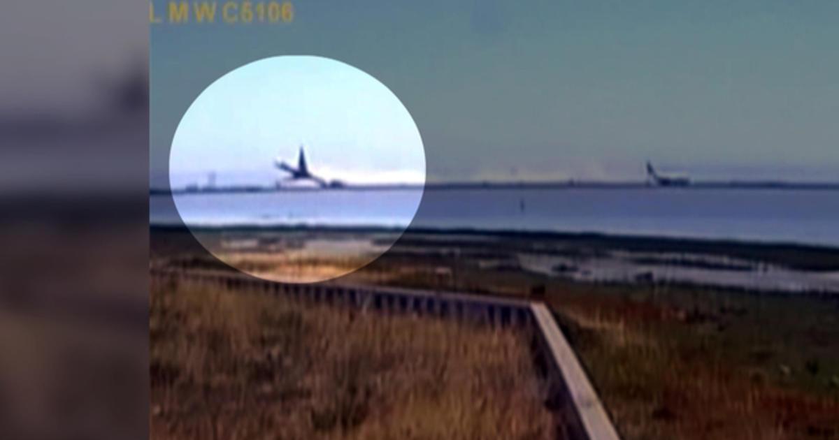 asiana flight 214 crash caught on tape cbs news