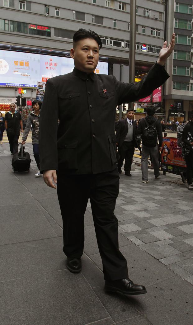 Kim Jung-Un impersonator