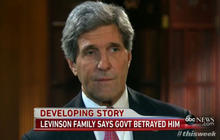 John Kerry: U.S. did not abandon Levinson