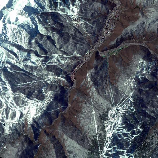 Sochi satellite