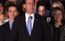 Santorum rallies PA supporters after losses in WI, MD & DC
