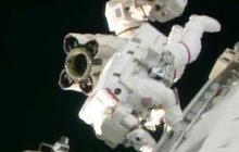 Spacewalk brings progress and a new problem