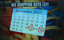 Post-Christmas bargain hunting