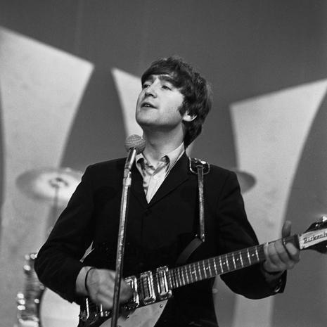 John Lennon The Beatles Backstage At The Ed Sullivan Show Cbs News